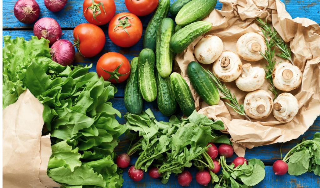 Wasserhaltiges Gemüse