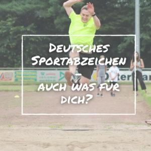 Deutsches Sportabzeichen Weitsprung