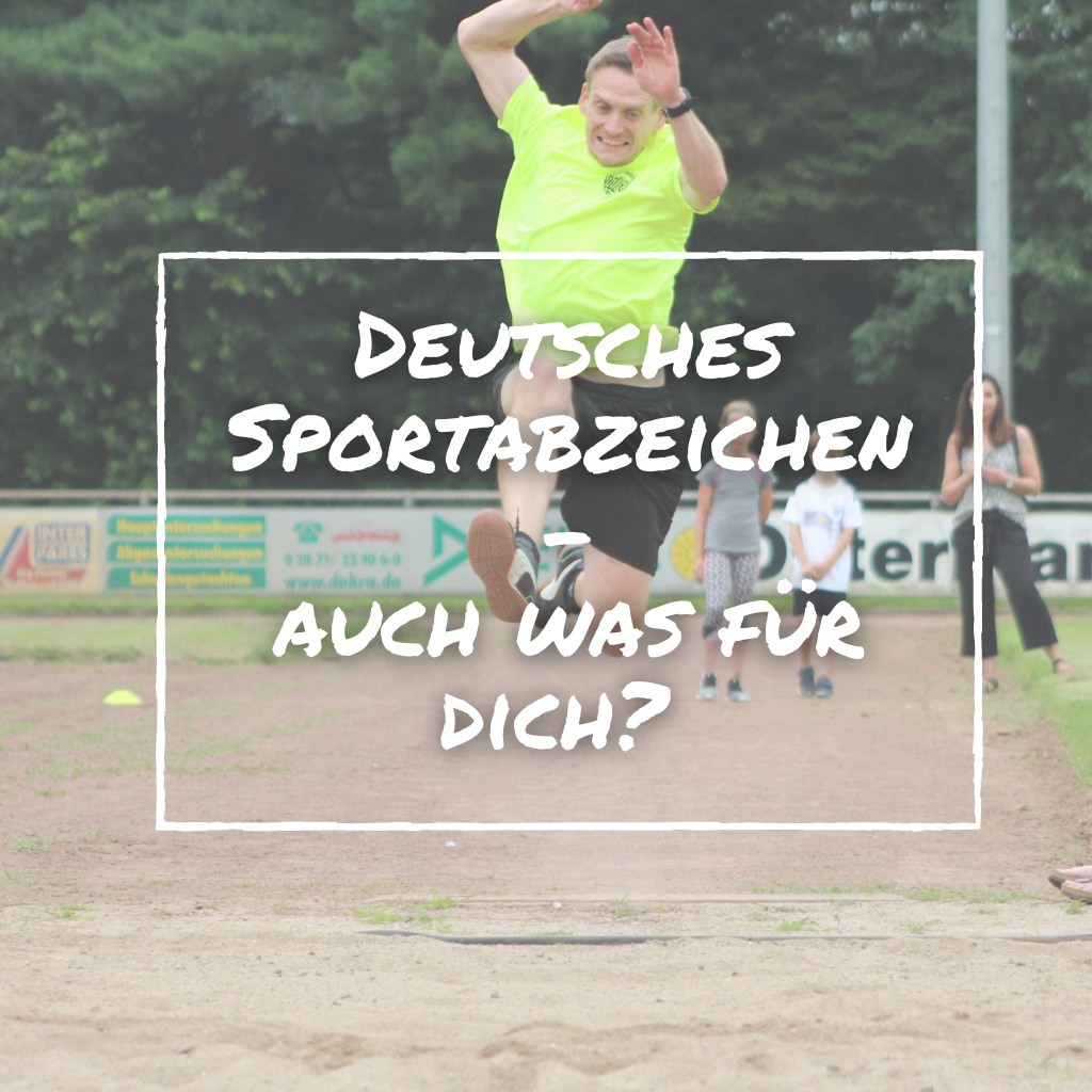 Read more about the article Hoch die Tassen für's deutsche Sportabzeichen!
