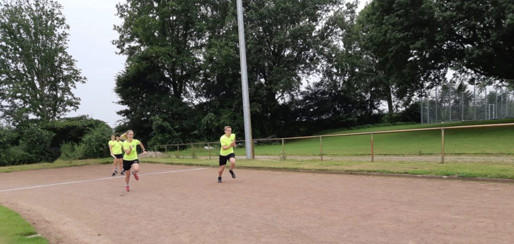 Sprint beim Sportabzeichen